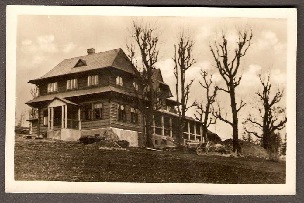 Kolarova chata v roce 1931